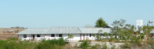 Achterkant kindertehuis